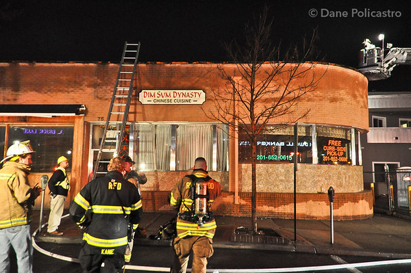 2-17-12 Ridgewood, NJ General Alarm: 75 Franklin Avenue
