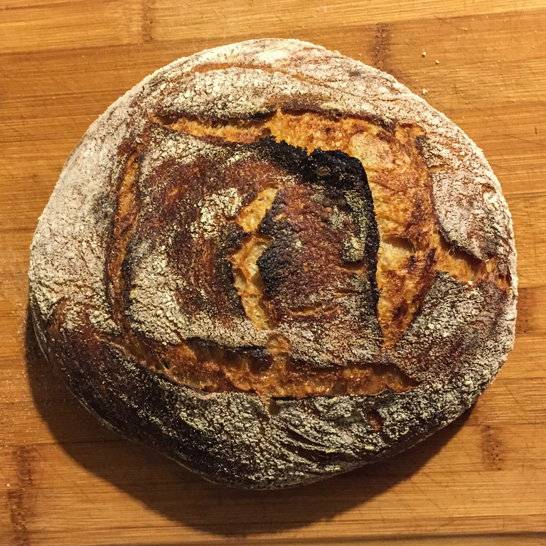 Making Sourdough Bread: A Rustic Sourdough Loaf