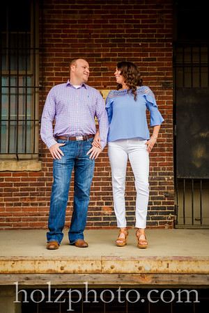 Brittany and James Color Engagement Photos