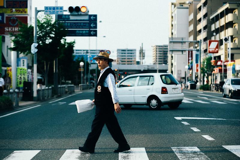 Japan City Life Through The Windshield