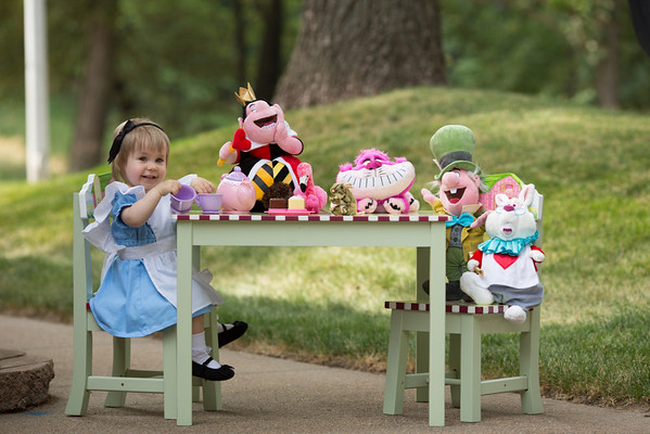 Alice at her 18 month Tea Party