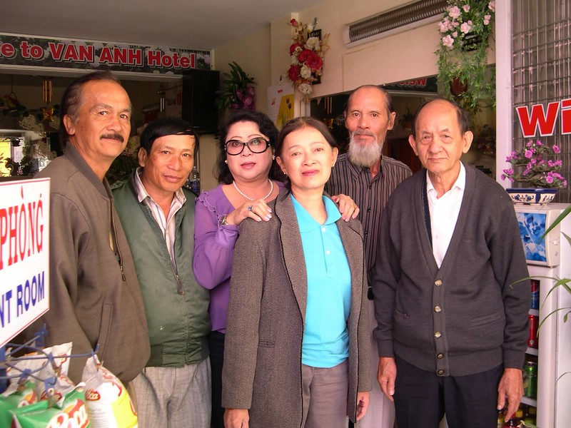 Lê Văn Nho, Kim Anh, Nguyên Nhung, Mạch Sĩ, thầy An