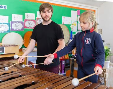 The Marimba Artist Visits the TASIS Elementary School