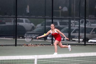 Girls Varsity Tennis - 4/21/2014 North Muskegon