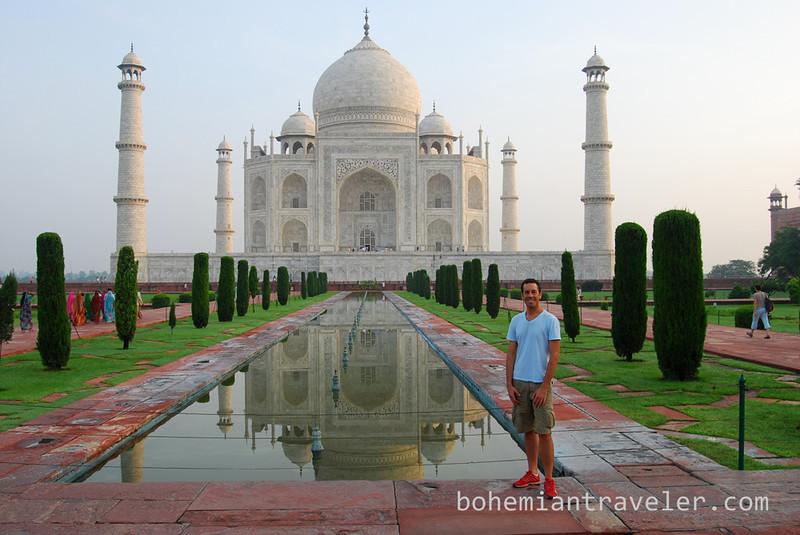 Taj Mahal and reflection Michael (2).jpg