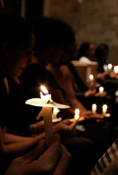 MLK Candlelight Vigil (Winter 2017)