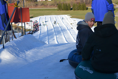 Vertical Descent Tubing Park