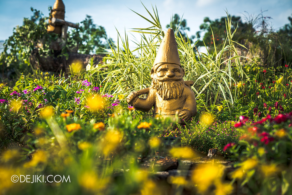 Singapore Garden Festival 2018 - Flower Field / Sunflower field gnome