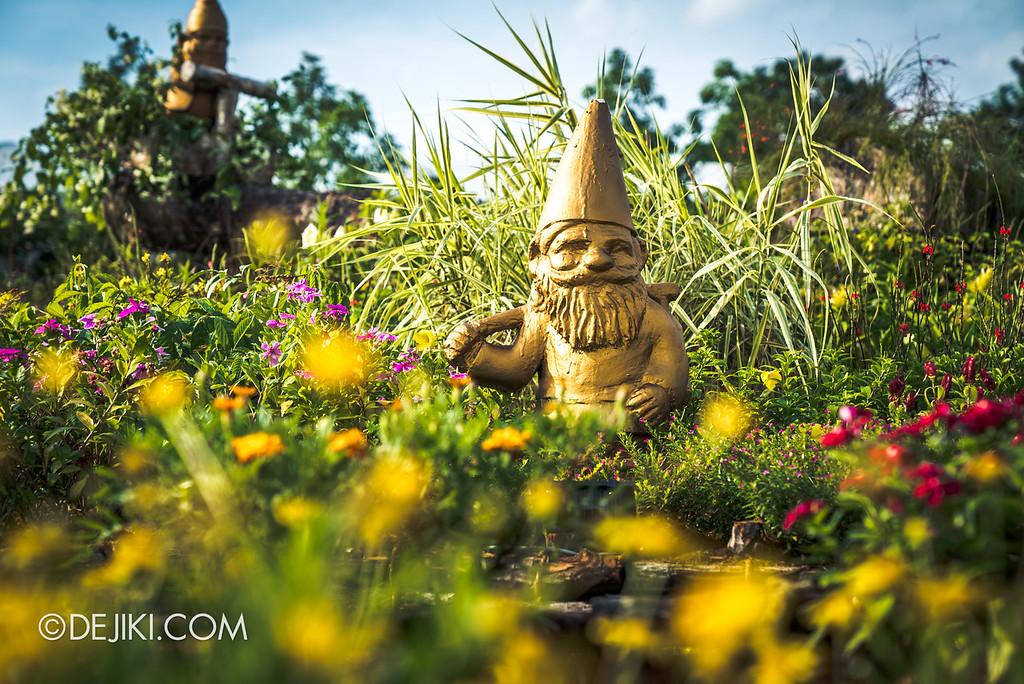 Singapore Garden Festival 2018 - Flower Field / Sunflower field gnome