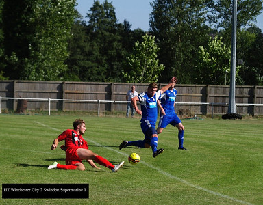 Winchester City (3) v Swindon Supermarine (0) 31.8.2013 FA Cup Preliminary Round