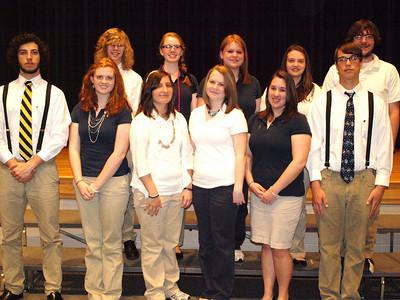 TAHS Honor Society Ceremonies, Middle School (4-19-2011)