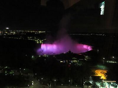 2017-09-07 Niagara at night and skydiving with Richard