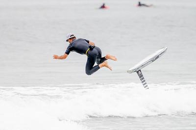 Matt Foiling Long Beach 8-4-21