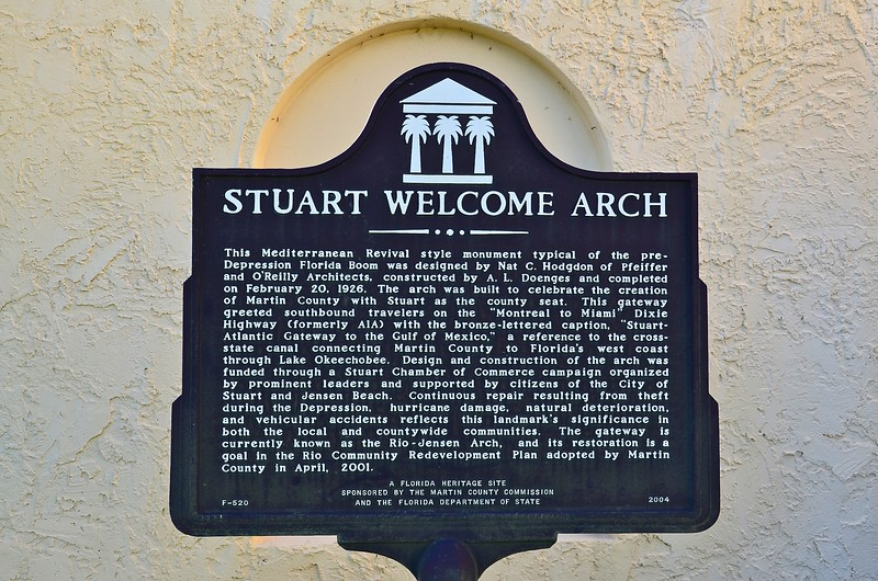Stuart Welcome Arch