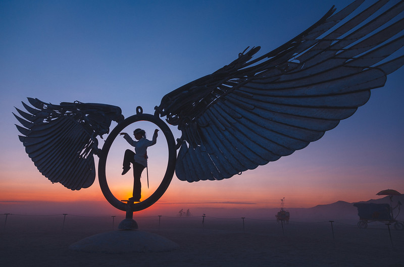Angel | Burning Man, Nevada, 2008