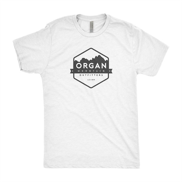 Outdoor Apparel - Organ Mountain Outfitters - T-Shirt - Mens Classic Tee - Heather White.jpg