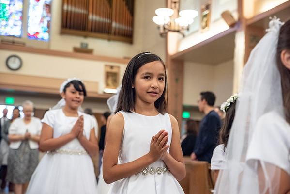 180520 Emma's 1st Communion
