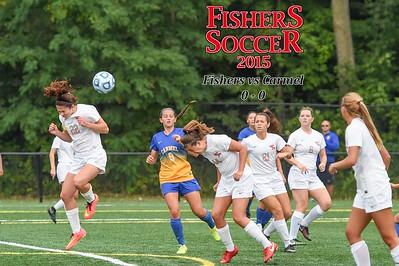2015 Girls Var Soccer - Carmel