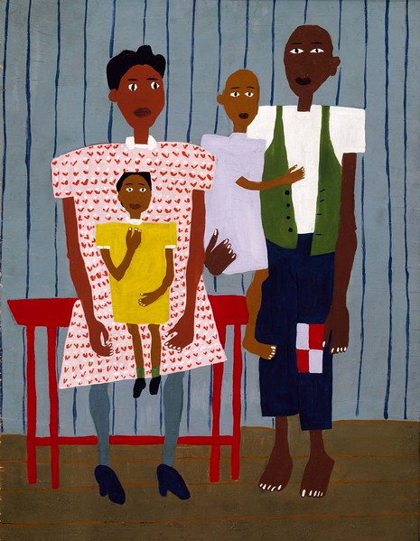"William H. Johnson, ""Folk Family"" (c.1944)"