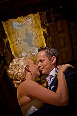 Chris & Frances' Beautiful Harlaxton Manor Wedding