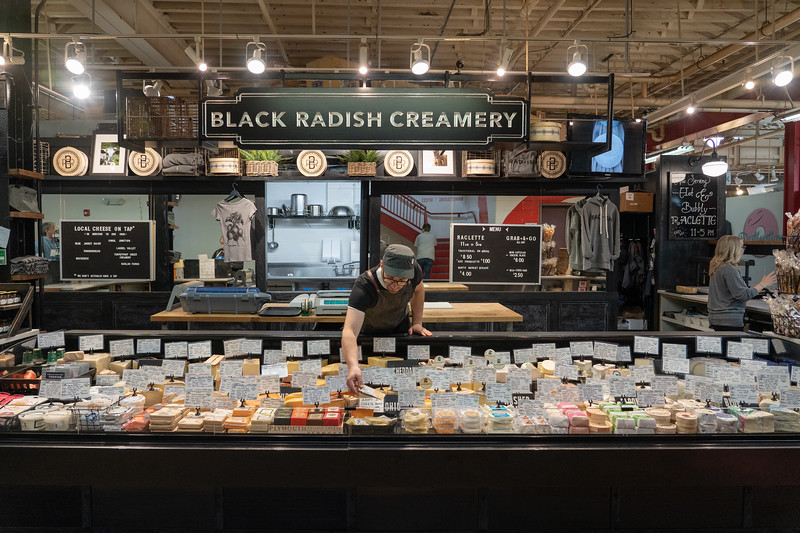 Black Radish Creamery at North Market