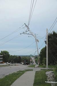 Storm damage, August 2020