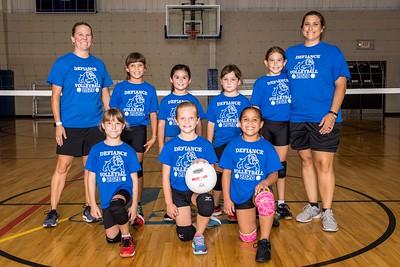 Third Grade Volleyball