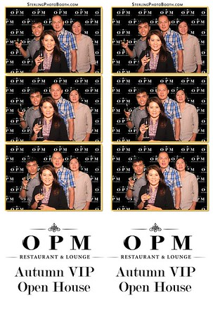 OPM Restaurant & Lounge - Autumn VIP Open House