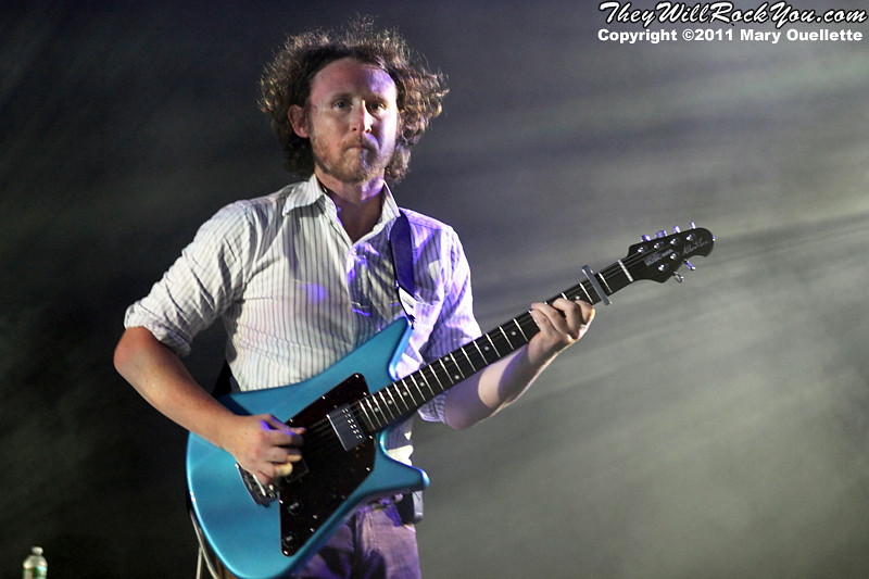 "Mike Einziger of Incubus performs on September 9, 2011 in support of ""If Not Now, When?"" at Comcast Center in Mansfield, Massachusetts"