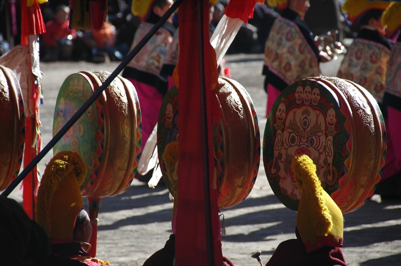 Tibetan Drums - Xiahe, China