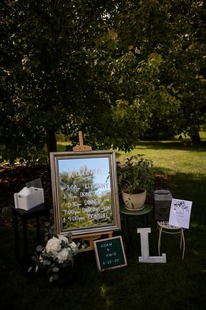 Amie + Adam | Wisconsin Backyard Wedding Photography