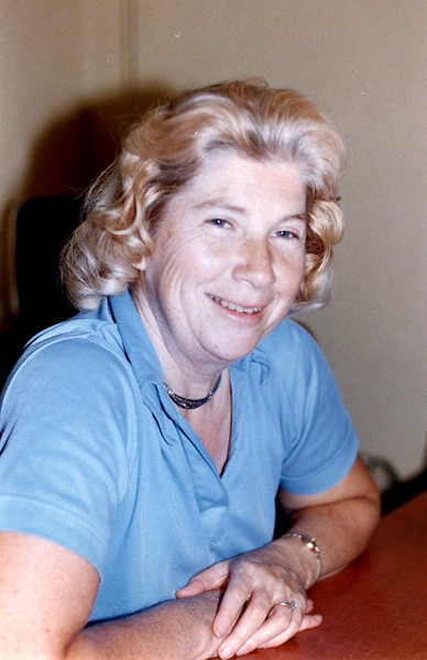 Aunt Evelyn Jean (Herdrich) Cain