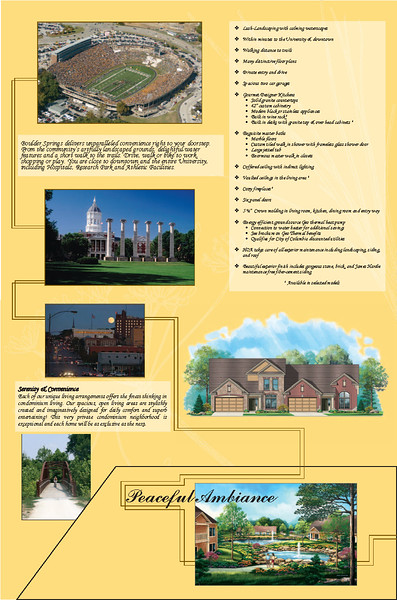 ReMax Real Estate Development Folder Interior