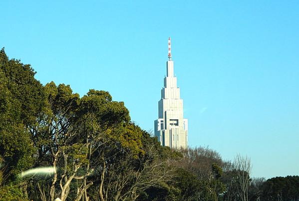 Panoramic Tokyo 1-23-14