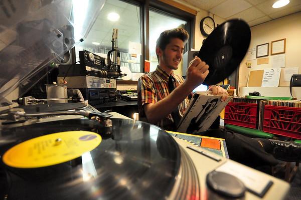 Ryan Walters had all vinyl radio show at WJJW-050614