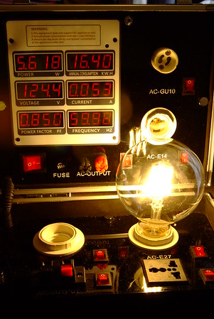 Edison Light Tests