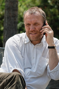 Juni 2010: Bernd auf der EAGE in Barcelona
