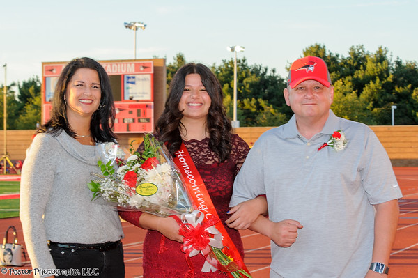 Homecoming Crowning and Game
