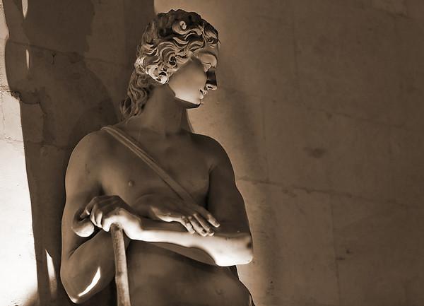 Statues - soirée aux chandelles 24 juillet 2010