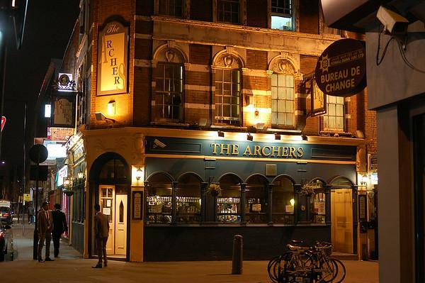 The Archers pub on Brick Lane