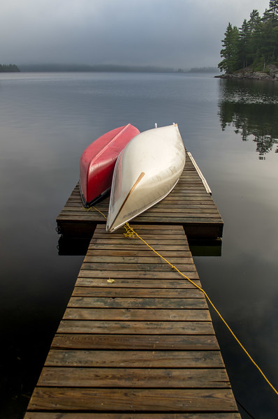 Canoes at Rest - 13-Jan-2018