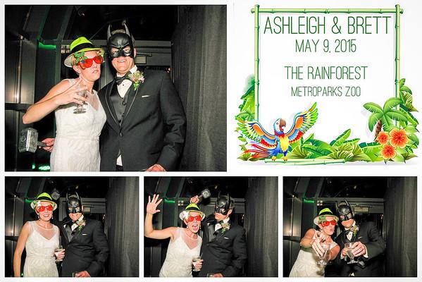 Ashleigh & Brett Wedding Photo Booth