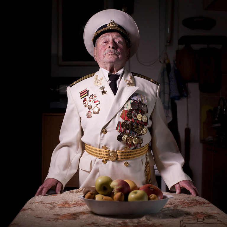 . Soviet Jewish World War Two veteran Yaakov Vilkovich, 90, poses for a portrait at his house in the southern Israeli city of Ashdod. Vilkovich  joined the Red Army in 1941, served in the 31st Army\'s infantry battalion and fought in the Battle of Berlin in 1945. He immigrated to Israel in 1998. About 500,000 Soviet Jews served in the Red Army during World War Two, and the majority of those still alive today live in Israel.   (AP Photo/Oded Balilty)
