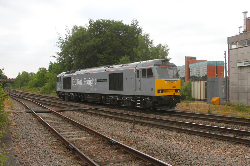 60046 Basingstoke 09/06/20 0Z61 Reading to Southampton Up Yard