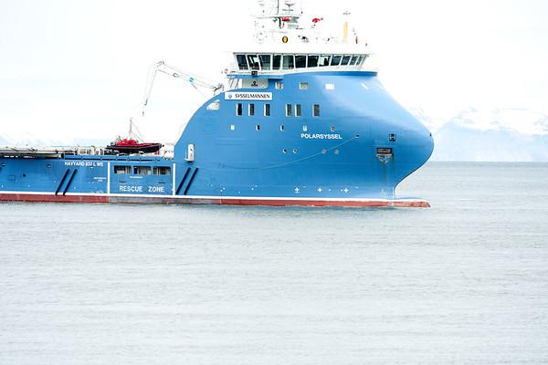 Longyearbyen Ships Boats Svalbard Norway 2018