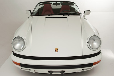 89 White Porsche Speedster
