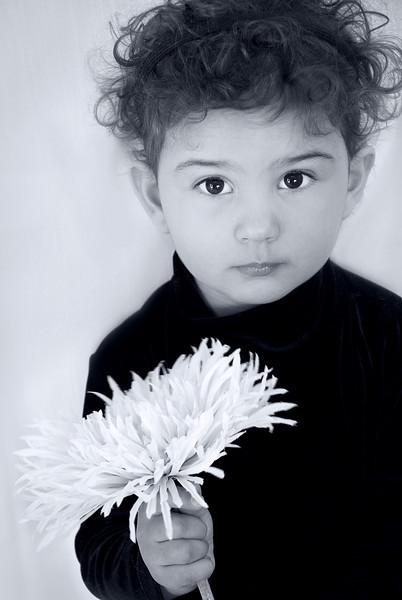 photo audra w flower BW SM.jpg