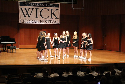 Wick Choral Festival - SM groups , etc. 1.26.18