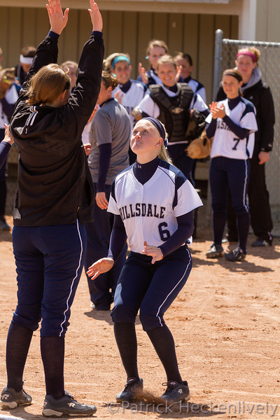 2012-04-21 Hillsdale College Softball vs. Northwood