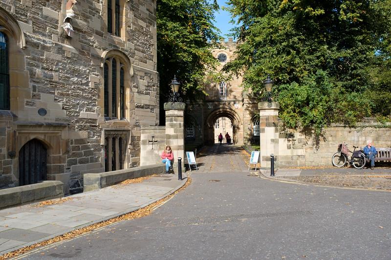 Entrance to Durham Castle, Durham